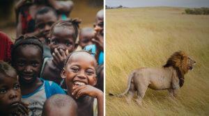 Las dos representaciones occidentales clásicas de África: naturaleza pródiga y tribus
